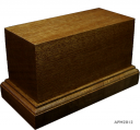 Wooden Base 40x90H50 (mounted figure 54mm)