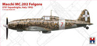 H2K72008 Macchi MC.202 Folgore, Italy 1943 (ex Hasegawa)!