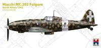 H2K72006 Macchi MC.202 Folgore, North Africa 1942 (ex Hasegawa)!