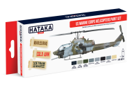HTK-AS14 US Marine Corps Helicopters Paint Set of 8