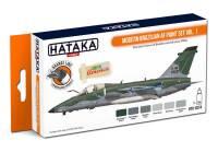 HTK-CS74 Modern Brazilian AF paint set vol. 1 -- ORANGE LINE 8 x 17ml