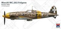 H2K72007 Macchi MC.202 Folgore, Russia 1942 (ex Hasegawa)!