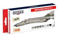 HTK-AS66 Modern Luftwaffe paint set vol. 4. 8x17ml