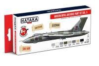 HTK-AS97  Modern Royal Air Force paint set vol. 5 - 8 x 17ml