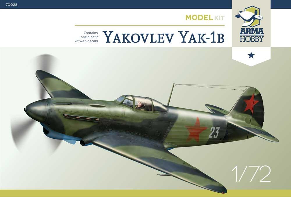 70028 Yakovlev Yak-1b Model Kit
