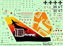 1/48 Eurofighter Typhoon 10 Years decals