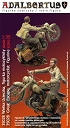 Great Escape - motorcyclist figurine