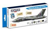 HTK-BS97 Modern Royal Air Force paint set vol. 5 – BLUE LINE 8 x 17ml