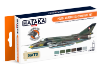 HTK-CS47 Polish Air Force Su-22M4 paint set of 6 x 17ml