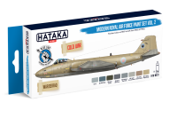 HTK-BS73 Modern Royal Air Force paint vol. 2 set of  8x17 ml