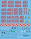 D72007 MiG-29 in Polish service vol.2 decals