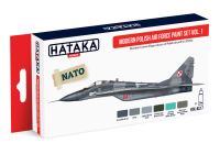 HTK-AS17 Modern Polish Air Force paint set vol. 1 (set of 6)