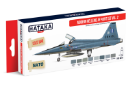 HTK-AS75 Modern Hellenic AF paint vol. 2 set of 8 x 17ml