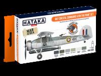 HTK-CS49 RAF Coastal Command & RN FAA paint set  -- ORANGE LINE 6 x 17ml