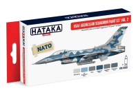 HTK-AS30 USAF Aggressor Squadron paint set of 6 vol. 2