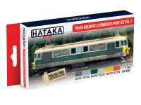 HTK-AS42 Polish Railways locomotives paint set vol. 2, set of 6