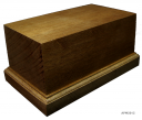 Wooden Base 65x115H60  (mounted figure 75-90mm)