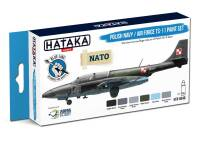 HTK-BS46 Polish Navy / Air Force TS-11 paint set 6 x 17ml – BLUE LINE