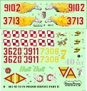 D72081 Su-22 in Polish service part II 1/72 decals
