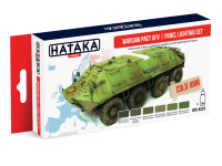 HTK-AS24 Warsaw Pact AFV panel lighting set of 6