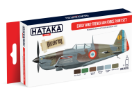 HTK-AS16 Early WW2 French Air Force paint set of  6