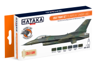 HTK-CS10 USAF Paint Set European Camouflage 6 x 17ml--> ORANGE LINE