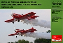 Zlin Z-50 Zelazny Aerobatic Team model kit 1/72