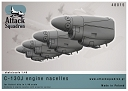 1/48 C-130 J engine nacelles for Italeri