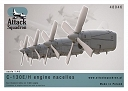 1/48 C-130 E/H Engine nacelles + propellers set !