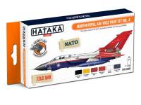HTK-CS85 Modern Royal Air Force paint set vol. 4 -- ORANGE LINE 6 x 17ml