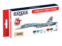 HTK-AS83 Ultimate Su-33 Flanker-D paint set of 6 x 17ml