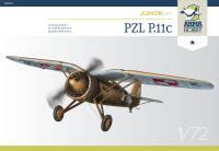 70016 PZL P.11c Junior Set 1/72!