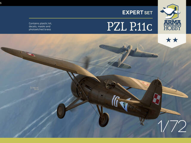 PZL P.11c - back in stock!
