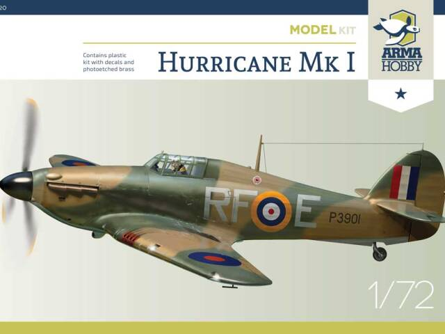 Decals errata for Hurricane Model Kit #70020 and promotion