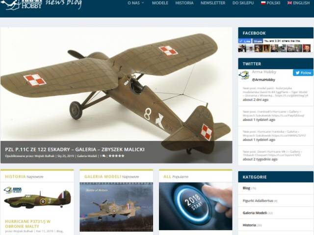 Check what's new in Arma Hobby News blog