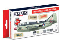 HTK-AS113 Modern RN Fleet Air Arm paint set of 6 x 17 ml vol.1
