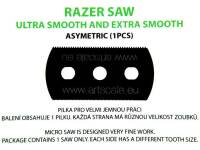 Razer Saw: ultra and extra smooth asymetric (1 pcs.)