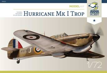 70021 Hurricane Mk I Trop Model Kit!
