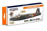 HTK-CS102 RAF Bomber Command paint set 8 x 17ml -- ORANGE LINE