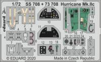 EDU73708 SET Hurricane Mk.IIc 1/72!