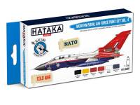 HTK-BS85 Modern Royal Air Force paint set vol. 4 – BLUE LINE  8 x 17ml