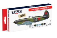 HTK-AS33 Early WW2 Soviet Air Force paint set of 8