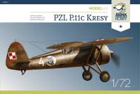 70017 PZL P.11c 'Kresy' Model Kit 1/72!