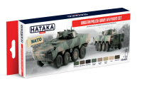 HTK-AS72 Modern Polish Army AFV paint set of 8 x 17ml