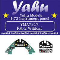 YMA7317 FM-2 Wildcat instrument panel