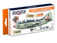 HTK-CS113 Modern RN Fleet Air Arm paint set vol. 1 - ORANGE LINE