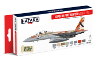 HTK-AS62 Israeli Air Force model paint set (modern jets)