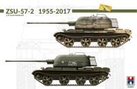 H2K35001 ZSU-57-2 1955-2017 w/bonus (11 Painting and Marking )!