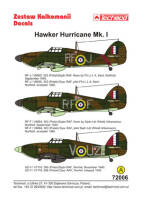 72006 Hawker Hurricane Mk I decals