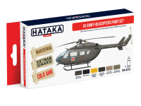HTK-AS19 US Army Helicopters Paint Set of 6